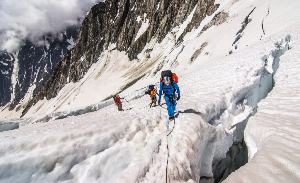 альпинисты, связка