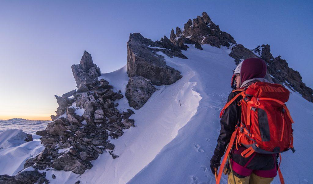 Maudit col, Chamonix, Mont Blanc