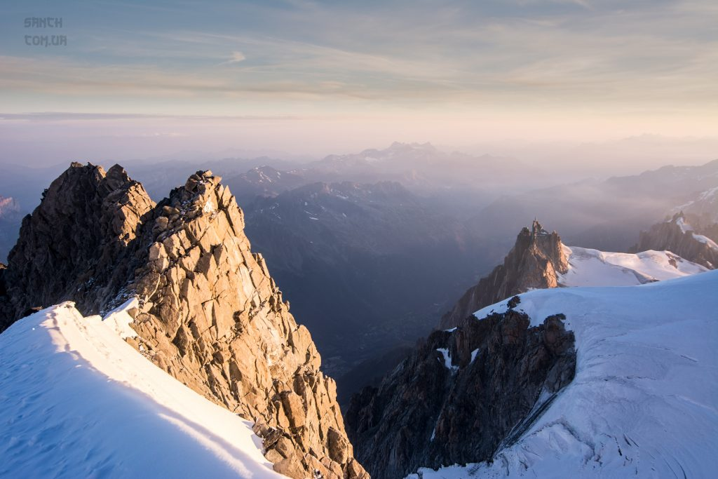 Maudit col, Mont Blanc